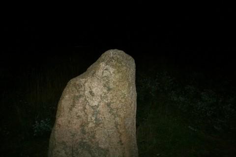 Kamienny krag nocą